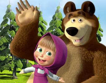 Masha e Orso: ecco dove comprare l'abbigliamento del cartone animato rivale di Peppa Pig