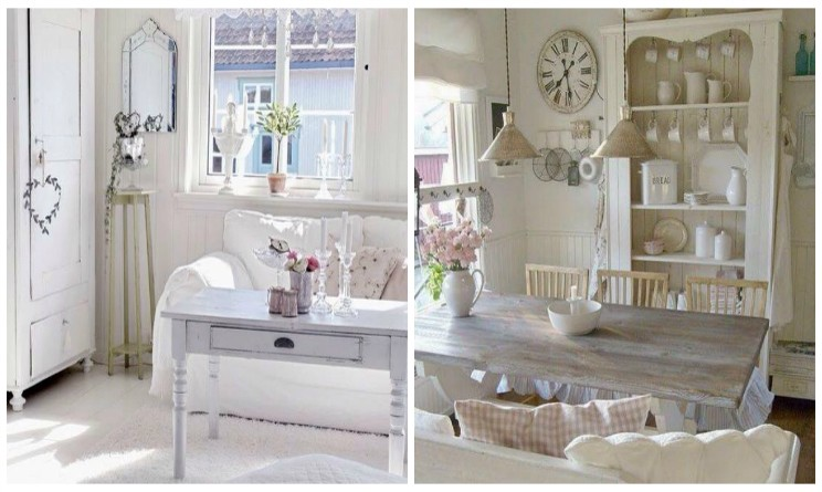 Arredamento provenzale i colori delle pareti di casa - Casa shabby chic country ...