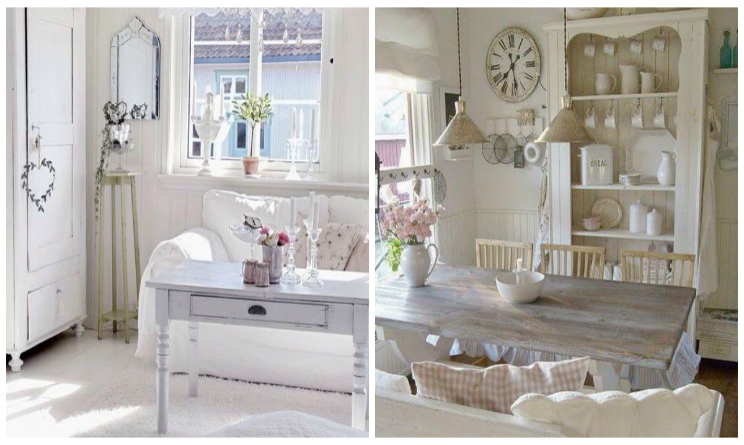 Arredamento provenzale i colori delle pareti di casa - Stile provenzale mobili ...