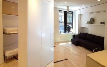 8 stanze in 37 mq: ecco l'appartamento che si trasforma in base alle vostre esigenze