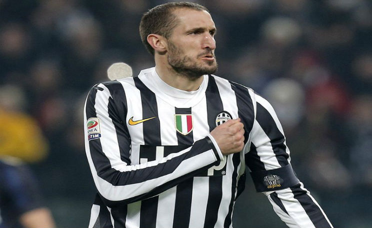 Chiellini Finale di Champions League