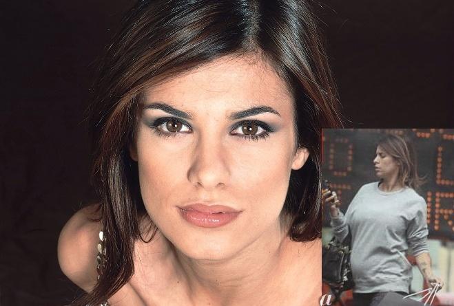 Elisabetta Canalis incinta