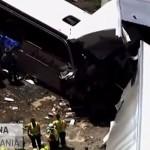Pennsylvania incidente autobus italiani