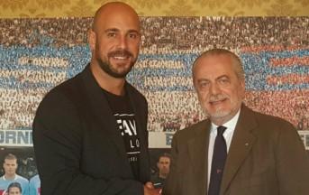 Napoli calcio, Reina e il messaggio su Twitter: a fine stagione sarà addio?
