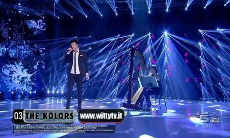 The Kolors premio critica finale Amici 14