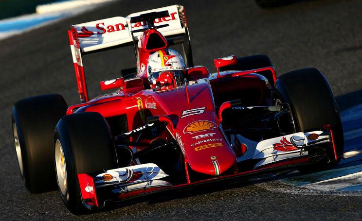 Vettel Formula 1 Ferrari