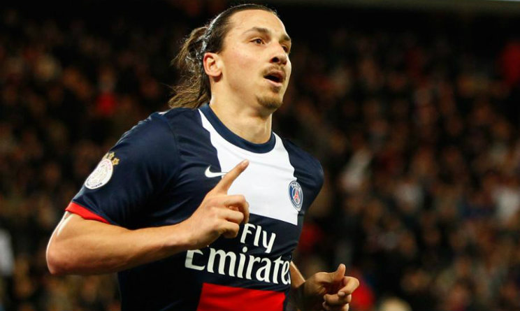 Ibrahimovic Champions League