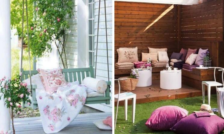 Arredamento shabby chic ecco come decorare il giardino in for Arredamento chic classico