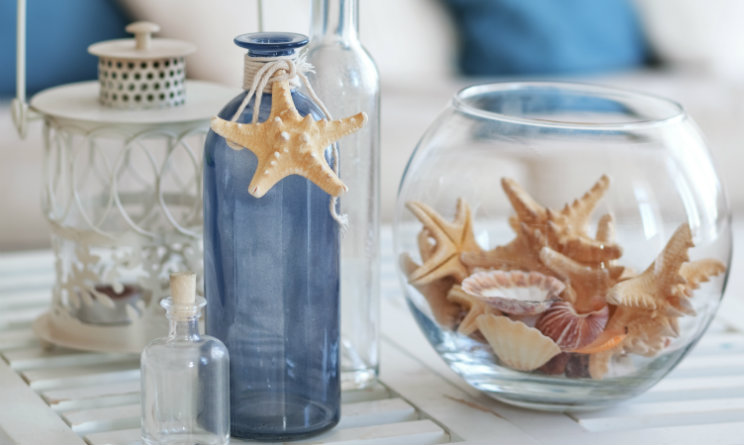 Arredare casa idee fai da te come ispirarsi al mare nei for Arredamento marino per casa