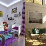 arredare con le foto, arredamento pareti, pareti decorate
