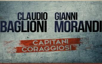 """Gianni Morandi e Claudio Baglioni a Che Tempo Che Fa presentano """"Capitani Coraggiosi"""""""