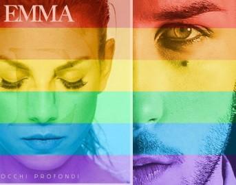Celebrate Pride, i vip con i colori dell'arcobaleno: da Emma Marrone a Barbara d'Urso