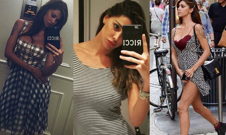 Look da vip  Belen Rodriguez perfetta tra fantasie e outfit di ultima  tendenza - UrbanPost 1124663582d