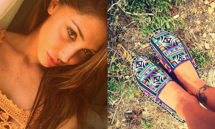 Look da vip  Belen Rodriguez veste le tendenze della moda mare 2015 b284b2b70cc