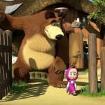 masha e orso natale
