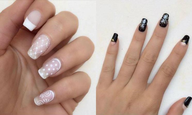 nail art 2015 la manicure romantica e rock di mikeligna a nail lab