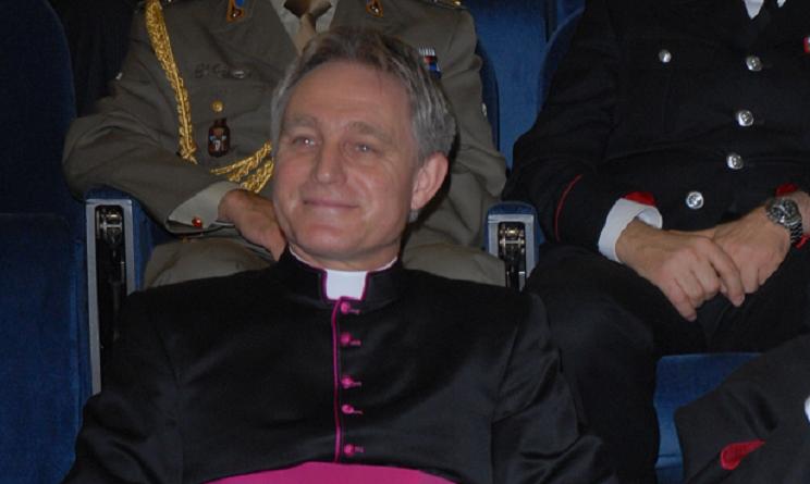 padre georg unioni gay