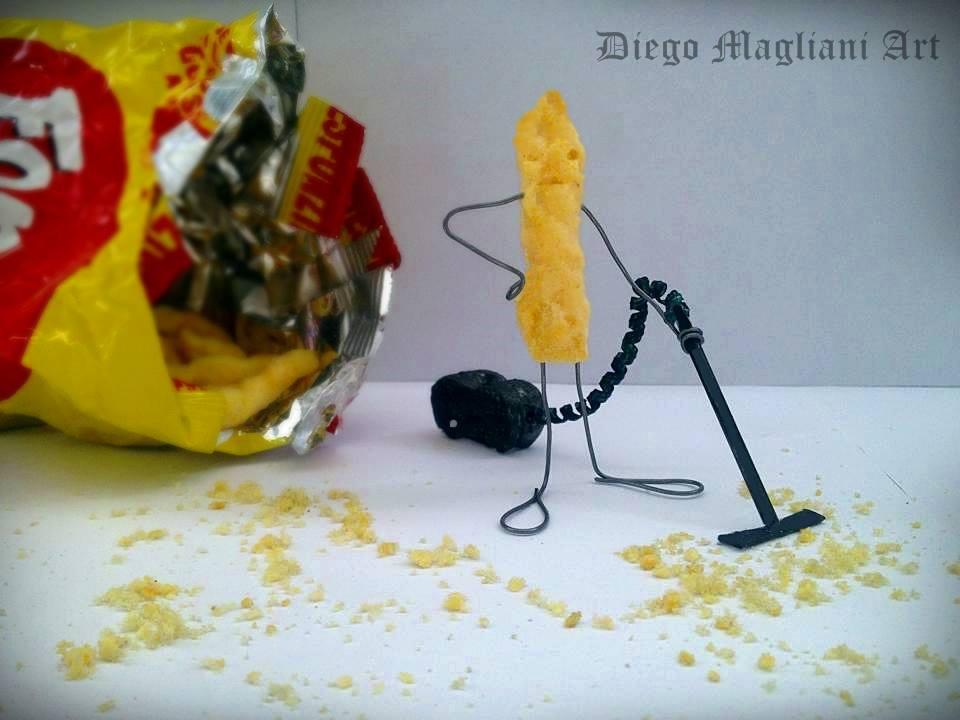 pulizie di fino vignetta Diego Magliani