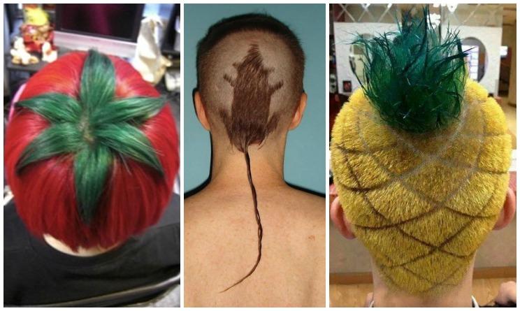 15 tagli capelli più folli che abbiate mai visto