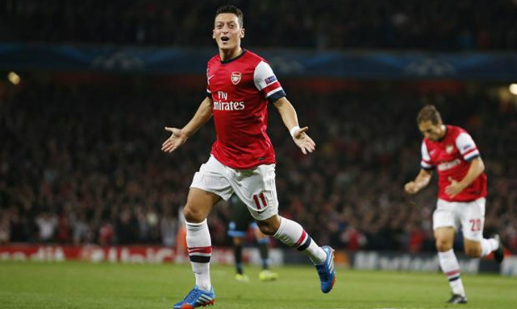 Ozil Champions League Arsenal-Bayern Monaco