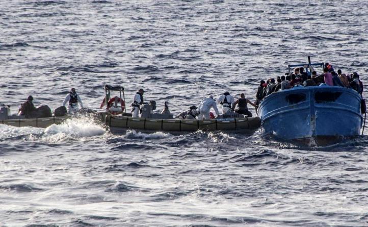 immigrazione 13 cadaveri su imbarcazione