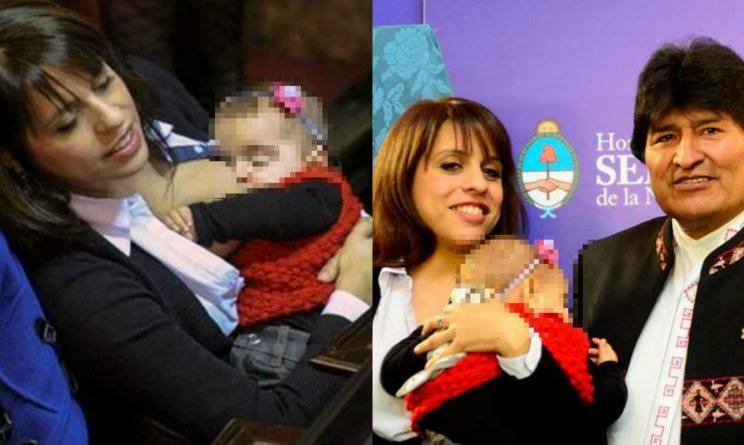 deputata argentina che allatta