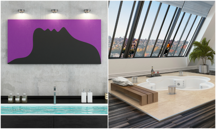 Docce e vasche da sogno ecco le 10 pi belle e ultra for Foto di sale moderne