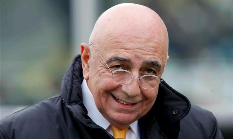 Calciomercato Milan Galliani