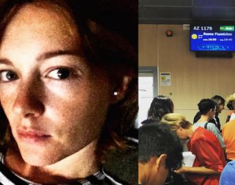 """Incendio a Fiumicino, Cristiana Capotondi grida allo scandalo: """"Roma insopportabile"""""""