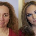 make up prima e dopo, make up prima dopo,