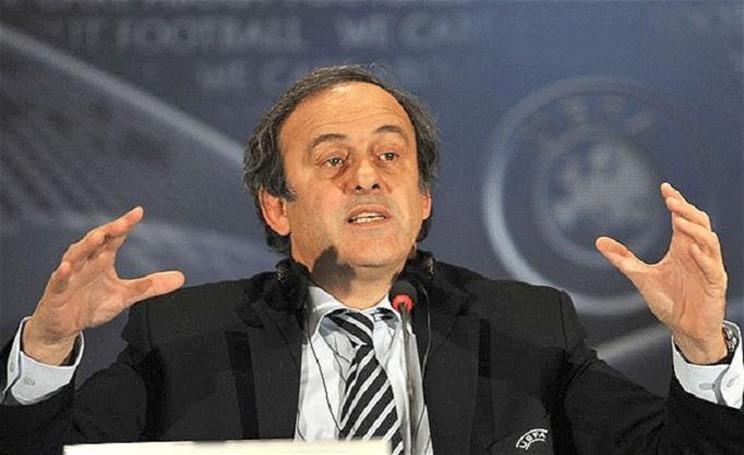 Platini FIFA presidente