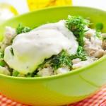 insalata pollo patate