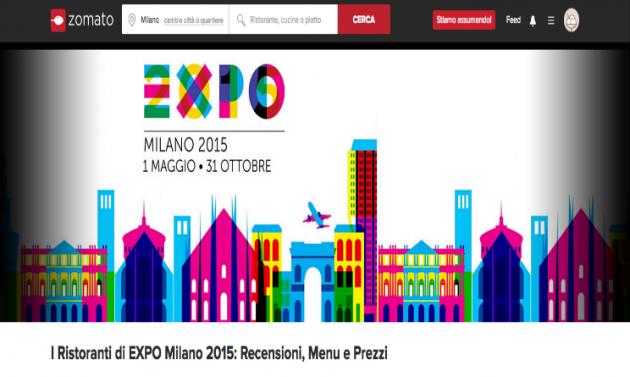 milano expo 2015 zomato la app per i ristoranti di expo