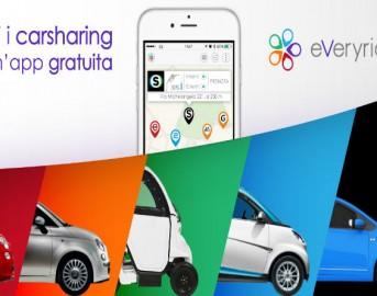 Tecnologia: Tutti i servizi di carsharing in un'unica App