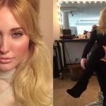modella curvy, Hayley Hasselhoff