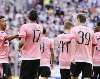 Juventus, rosa completa e numeri di maglia 2015/2016