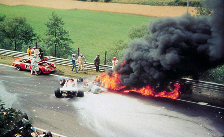 Niki Lauda incidente Formula 1