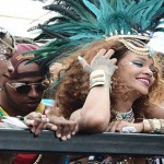 Rihanna e Lewis Hamilton insieme