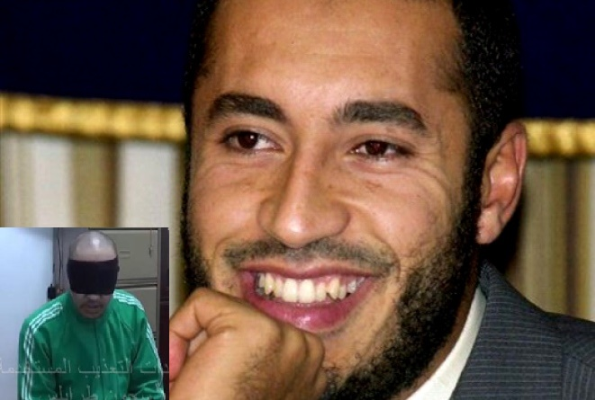 torturato in carcere figlio gheddafi