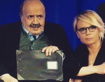 Maria De Filippi e Maurizio Costanzo, 20 anni d'amore e un compleanno molto speciale