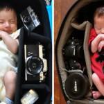 foto bambini mentre dormono