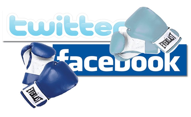 Facebook sfida Twitter