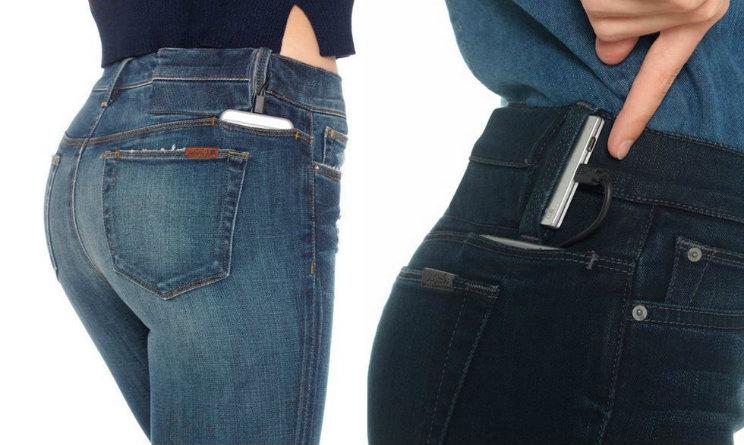 pantalone che ricarica smartphone