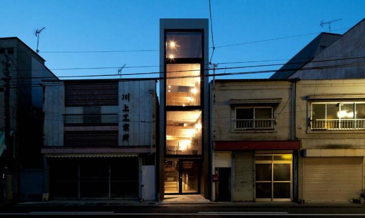 La casa pi stretta del mondo vivere in 1 9 metri di for Moderni piani casa stretta