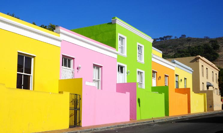 le case colorate, boo kaap cape town