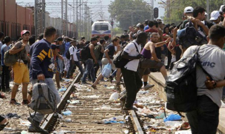 macedonia profughi siriani emergenza
