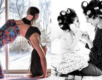 Tale madre, tale figlia: le immagini che raccontano una relazione speciale