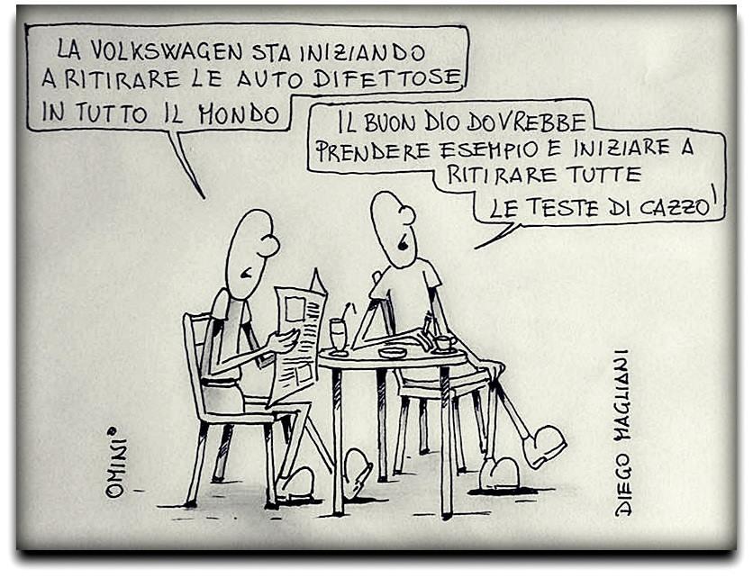 Ritiri Illustrazione Satirica Diego Magliani