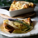 Ricette La prova del cuoco: crepes di farro con ricotta e spinaci di Anna Moroni