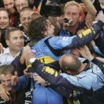 Alonso campione 25 settembre 2005
